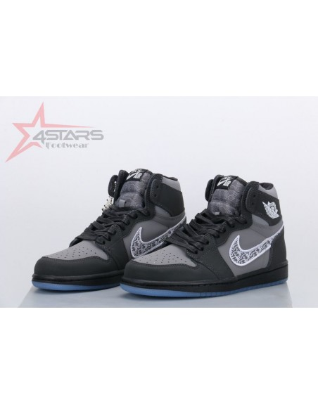 Air Jordan 1 Retro High Dior - Black