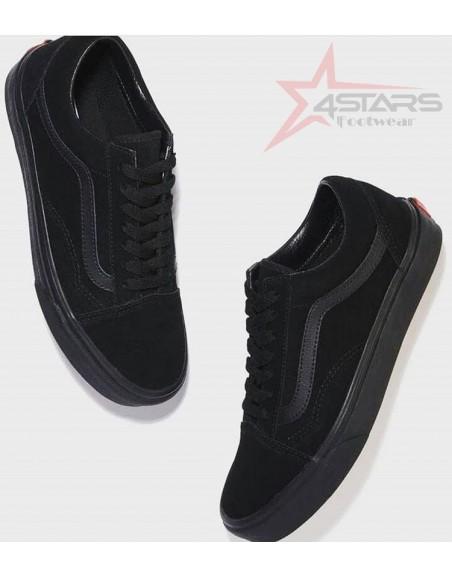 Vans Old Skool Skate Shoes - All Black