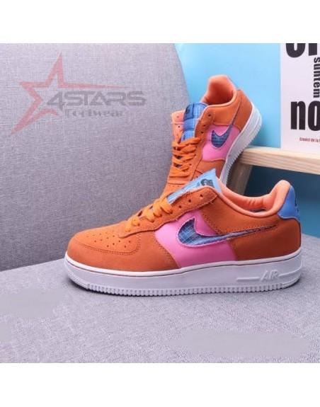 Nike Airforce 1 '07 Suede Orange