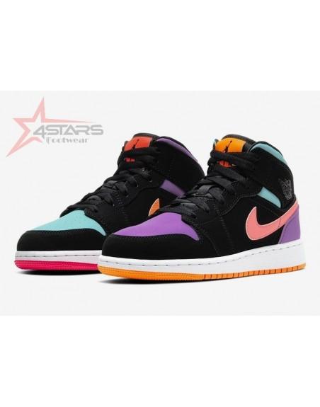 Air Jordan 1 Mid 'Multicolor'