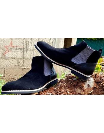 Black Polo Chelsea Boots