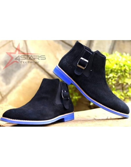 Buckle Up Polo Chelsea Boots
