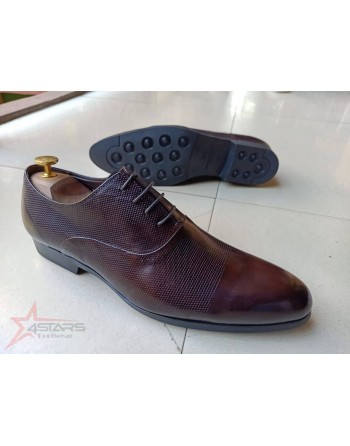 Laced Coffee Brown Men's...