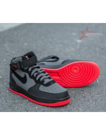 Nike Airforce 1 Mid Hot Lava